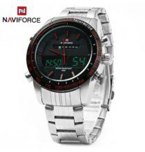 NAVIFORCE NF9024 férfi analóg karóra - Piros