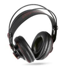 EU Raktár - Superlux HD681 3.5mm sztereó fejhallgató (UK) - Fekete és Piros