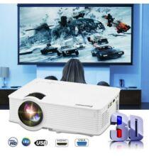 EU ECO Raktár - Excelvan mini LED 1200 lumen Házi Mozi projektor