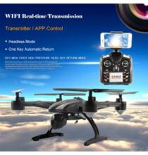 EU ECO Raktár - JXD 509W 2.4G 6 tengelyes 4 csatornás 2.0MP WIFI RTF FPV drón - Fekete