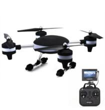 HUAJUN U-FLY W606-3 5.8G FPV drón 4 Csatornás 2.4G 2.0MP Kamerával 6 Tengelyes - Fekete
