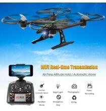 EU ECO Raktár - JXD 510W 2.4G WIFI FPV 6 tengelyes RC drón - Fekete