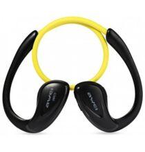 Awei A880BL Vezetéknélküli Bluetooth Sport Fülhallgató - Sárga
