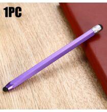 QB08 hatszögalakú stylus toll - Lila