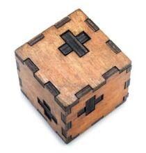 EU Raktár - Svéd kocka puzzle (UK) - Barna