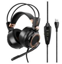 EU ECO Raktár - Somic G941 Aktív Zajszűrővel Rendelkező Gaming Fejhallgató USB Csatlakozóval