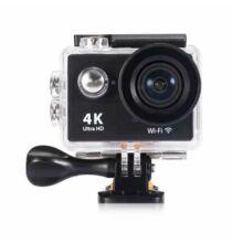 EU ECO Raktár - H9 UHD 4K 2.0 inch LCD képernyő 4.0MP WiFi sport kamera - Fekete