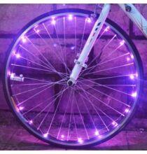 LED bicikliküllő világítás - Pink