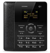 EU Raktár - AIEK Q1 mobiltelefon - Fekete