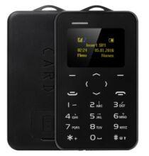 AIEK C6 kártya mobiltelefon - Fekete