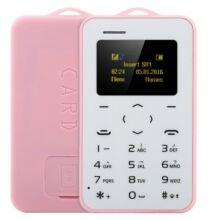 AIEK C6 kártya mobiltelefon - Pink