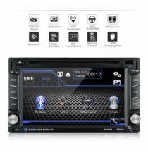 Excelvan YT-F6002B 6.2 inch Univerális Autós 2 DIN Fejegység Multimédia Lejátszóval
