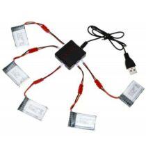 Syma X5H 5 x 3.7V 500mAh drón akkumulátor (CN) - Ezüst
