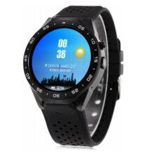 KingWear KW88 3G okosóra telefon - Fekete