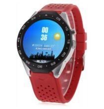 KingWear KW88 3G okosóra telefon - Piros