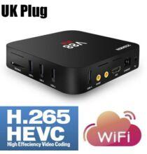 EU Raktár - SCISHION V88 Android 5.1 4K TV Box - UK csatlakozó Fekete