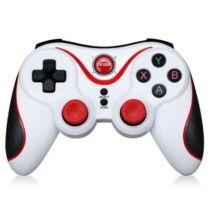 S5 Bluetooth 3.0 Gamepad játékkonzol - Fehér