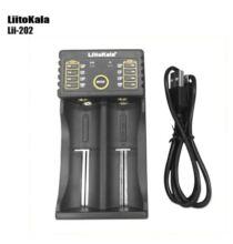 LiitoKala Lii - 202 USB Akkumulátor töltő - Fekete