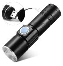 XD - Z501 Cree XPE LED zseblámpa - Fekete