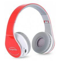 Kinganda BT513 Vezetéknélküli Fejhallgató - Piros