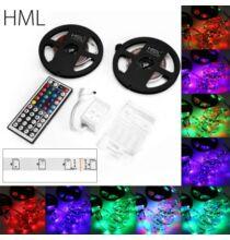 HML 5m 24W LED  fényszalag 2 darab - RGB