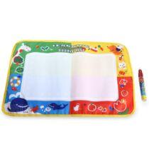 Mini Aqua Doodle gyermek rajz szőnyeg varázstollal - Fehér
