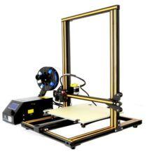 EU ECO Raktár - Creality3D CR - 10 LCD 3D nyomtató - EU csatlakozó, Frissített verzió, Fekete