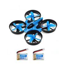 JJRC H36 Mini RC Drone - Kék - 2 Akkumulátorral