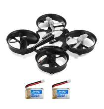 JJRC H36 Mini RC Drone - Szürke - 2 Akkumulátorral
