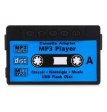 Kazetta alakú MP3 lejátszó -Fekete