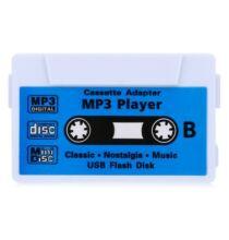 Kazetta alakú MP3 lejátszó -Fehér