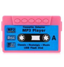 Kazetta alakú MP3 lejátszó -Pink