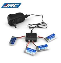 JJRC H31 RC adapter és WSX akkumulátor 4db - Fekete