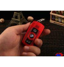 X5 kulcstartóként használható mini mobiltelefon dual sim MP3 Bluetooth - Piros