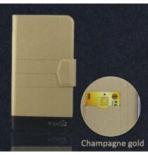 Ulefone S7 műbőr flip védőtok - Arany