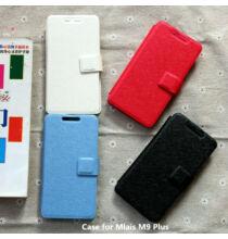 Állványozható mágneses flip műbőr védőtok MIJUE T200 okostelefonhoz