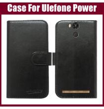 Állványozható mágneses flip bőr védőtok kártyatartóval Ulefone Power okostelefonhoz