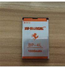 Eredeti 3.7V 1800mAh Li-ion akkumulátor M-Horse 9200 mini 9500 mini okostelefonhoz - BP-4L