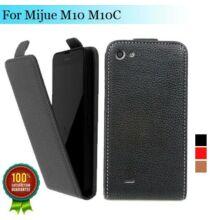 Lenyiló Flip bőrtok MIJUE M10 M10C okostelefonokhoz