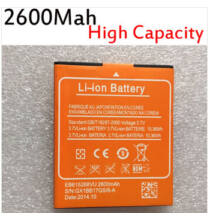 Eredeti Elephone p6i 2600mAh akkumulátor