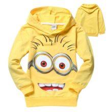 Aranyos Minion gyermek pulóver - Sárga