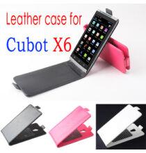 Álló Flip bőrtok Cubot X6 okostelefonokhoz