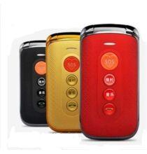 """EU ECO Raktár - F-Fook F888 2.4"""" Kártyafüggetlen Nagygombos Flip Mobiltelefon"""