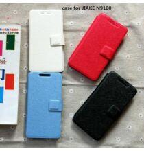 Szennyeződésálló Flip bőrtok JIAKE N9100 okostelefonokhoz