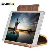 SAMDI asztali tablet tartó - Barna