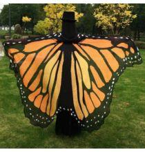 Pillangószárny köpeny - Föld színű