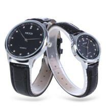 KEZZI K - 1664 páros Quartz karóra - Fekete