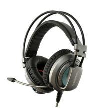 XIBERIA V10 3.5mm gamer fejhallgató - Szürke