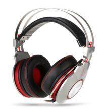 XIBERIA K5 USB gamer fejhallgató - Ezüst szürke