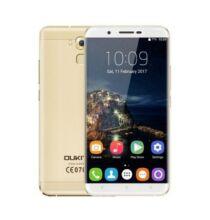 EU Raktár - OUKITEL U16 Max 4G okostelefon (UK) - UK csatlakozó - Arany